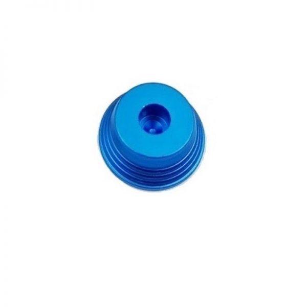 Aluminium Base geriffelt Blau