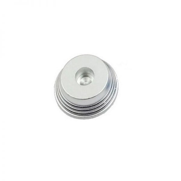 Aluminium Base geriffelt Silber