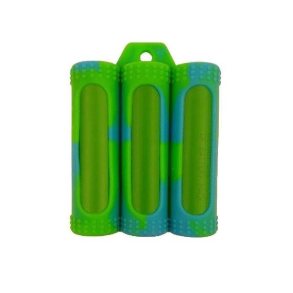 CM Rubber Case Triple 18650 Camo