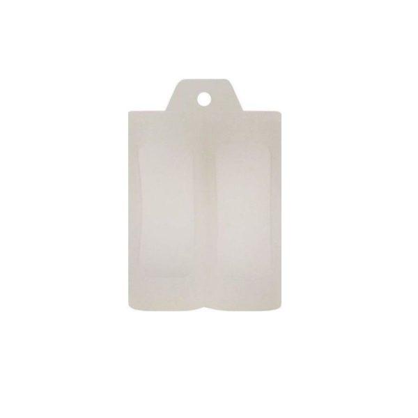 Coil Master Rubber Case Double 26650 Transparent