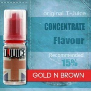 T-Juice Aroma Gold n Brown