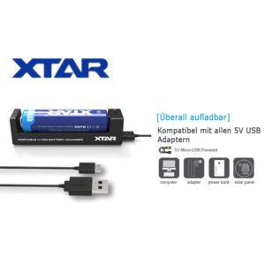 Xtar MC1 Ladegerät C