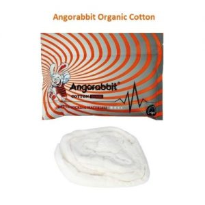 Angorabbit Orange Organic Cotton