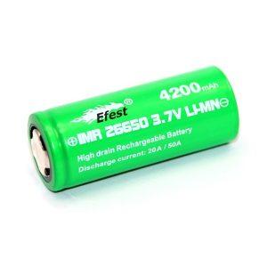 Efest Green IMR26650 Akku 4200mAh 20A - 50A