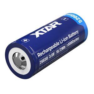 XTAR 26650 5200mAh 7A Li-Ion-Akku PCB A