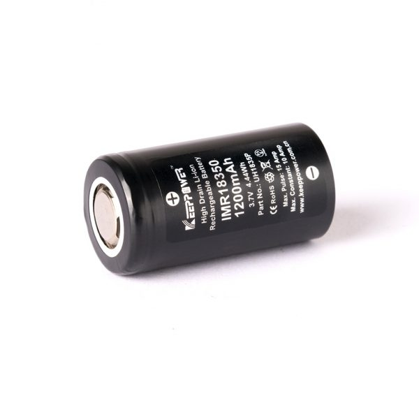 Keeppower IMR18350 - 1200mAh - A