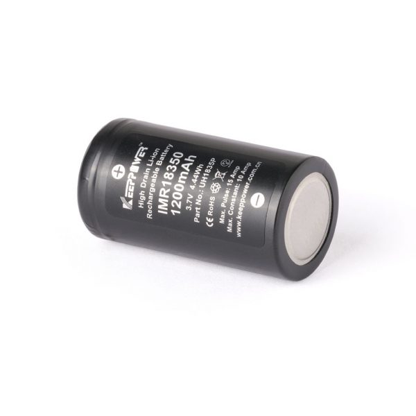 Keeppower IMR18350 - 1200mAh - B