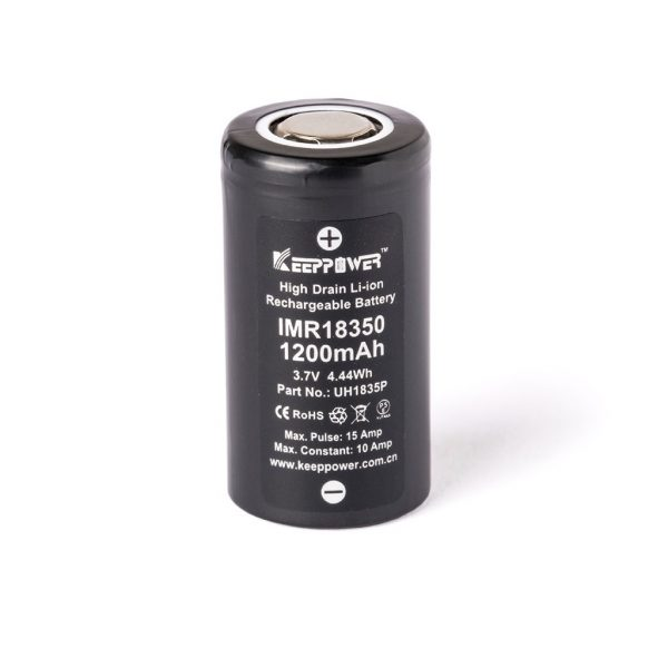 Keeppower IMR18350 - 1200mAh - C