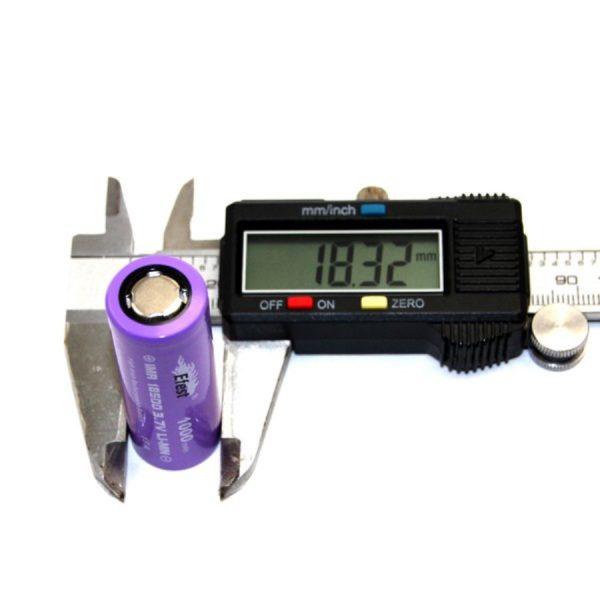Efest Purple IMR18500 - 1000mAh FT - B