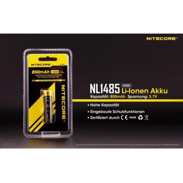 Nitecore 14500 NL1485 - B