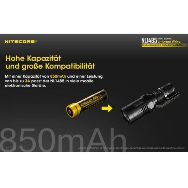 Nitecore 14500 NL1485 - C