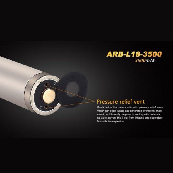 Fenix 18650 ARB-L18-3500 - B