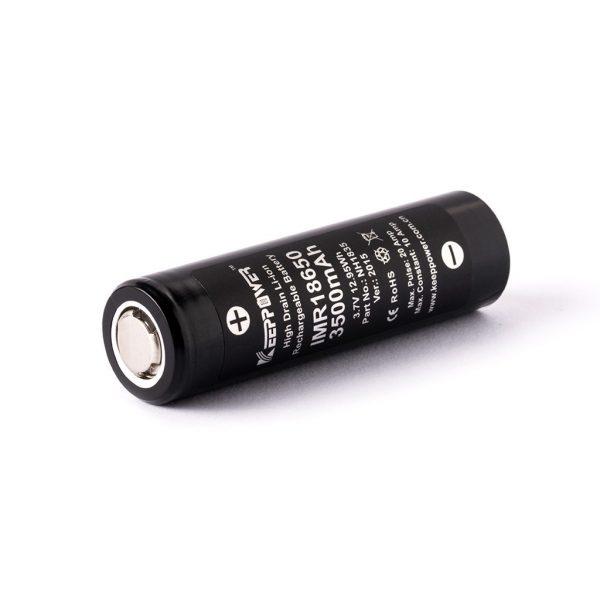 Keeppower IMR18650 3500mAh - 12050 - A