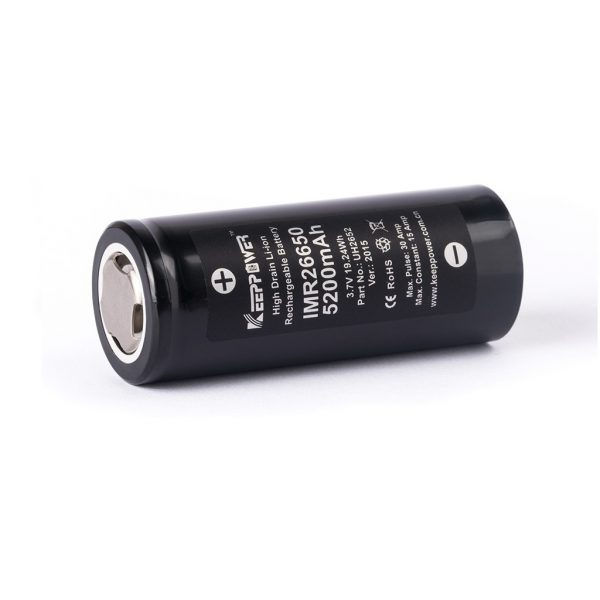 Keeppower IMR26650 - 5200mAh - A