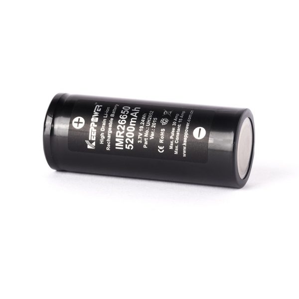 Keeppower IMR26650 - 5200mAh - B