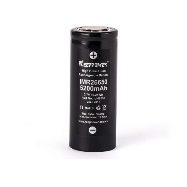 Keeppower IMR26650 - 5200mAh - C