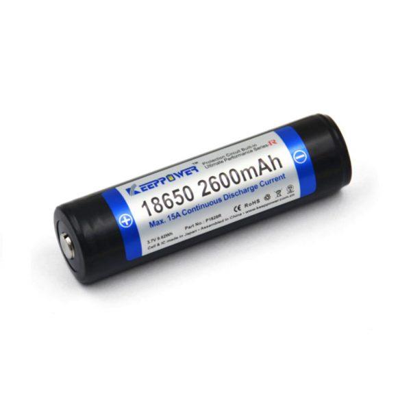 Keeppower R 18650 2600mAh - A