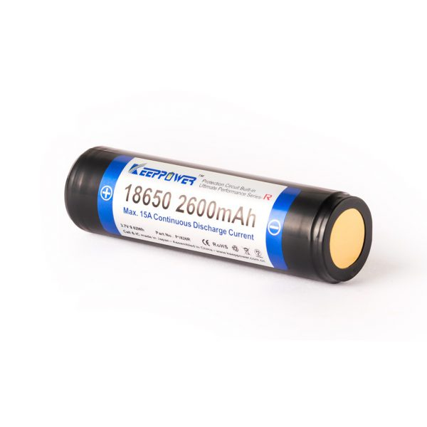 Keeppower R 18650 2600mAh - B