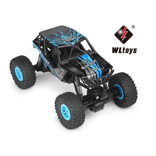 RC Elektro Monster Truck Crawler 428D Blau