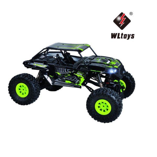 RC Crawler 428E WL Toys Grün