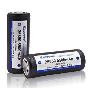 Keeppower 26650 5500mAh