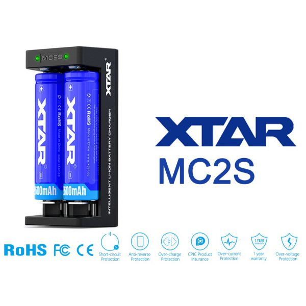 Xtar MC2S Ladegerät B