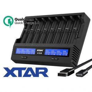 Xtar VC8 Ladegerät A