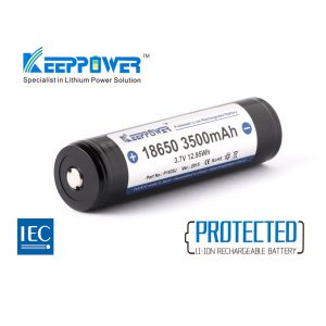 Keeppower 18650 3500mAh NCR18650GA A