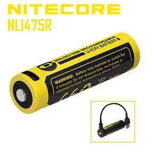 NiteCore NL1475R 14500 750mAh PCB USB Lademöglichkeit A